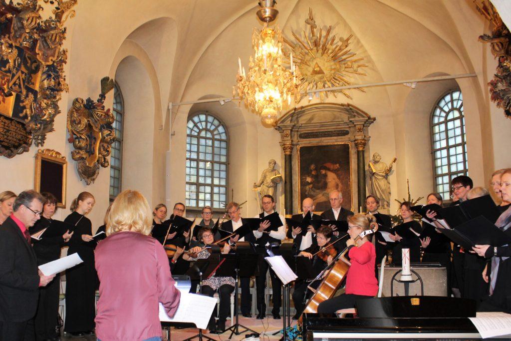 Kyrkokörens julkonsert 2017