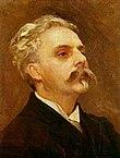 Tonsättare Gabriel Fauré